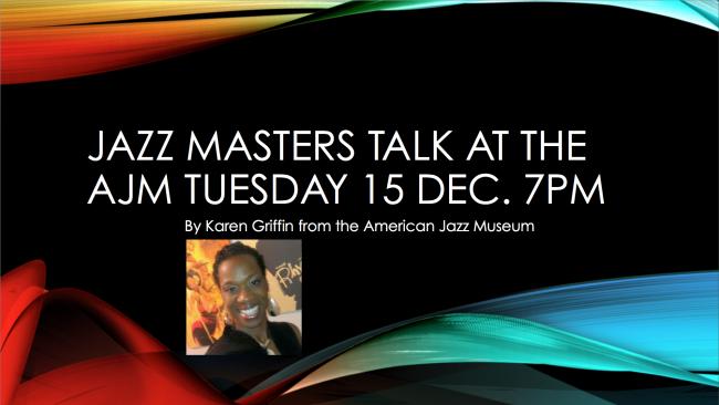 Jazz Masters Talk