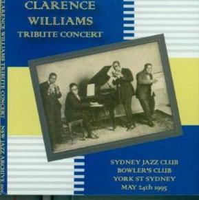 637 – Clarence Williams Tribute Concert – Sydney Jazz Club – 24th May, 1995